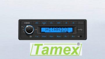 Radio/USB/MP3/WMA 12V Modré