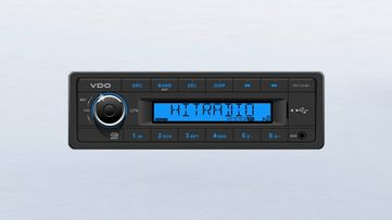 Radio/USB/MP3/WMA 24V Modré
